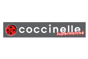 Logo Coccinelle supermarché