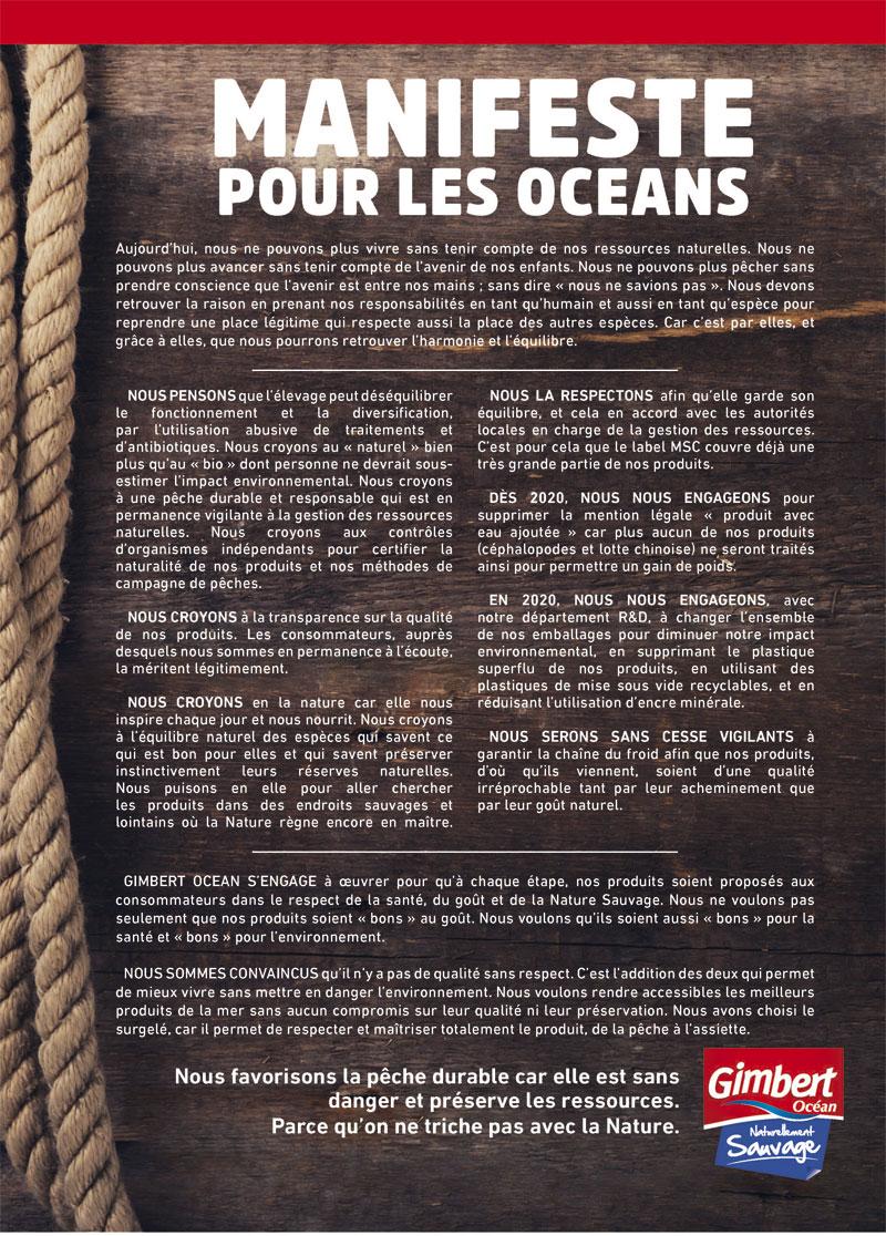 Manifeste pour les océans, Gimbert Océan