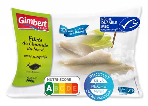 Filets de Limande du Nord Label MSC Gimbert Océan