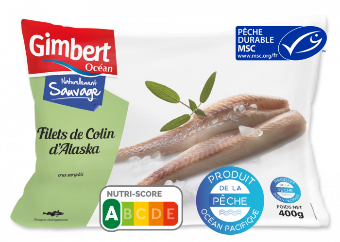 Filets de Colin d'Alaska Label MSC Gimbert Océan