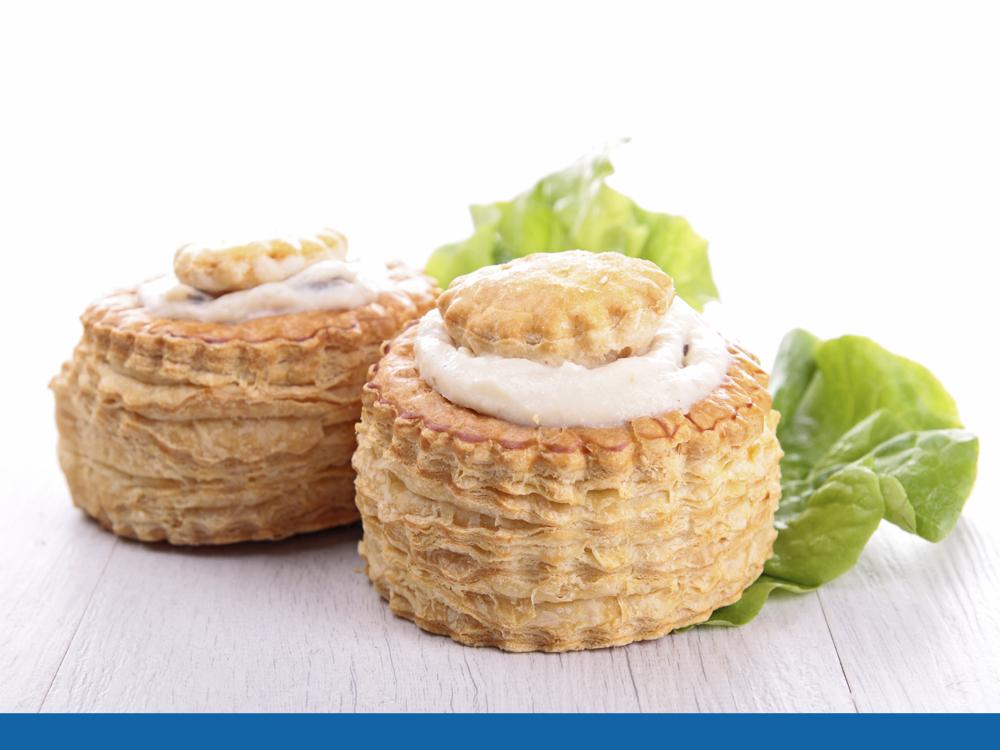 Photo de la recette des bouchées à la reine aux fruits de mer