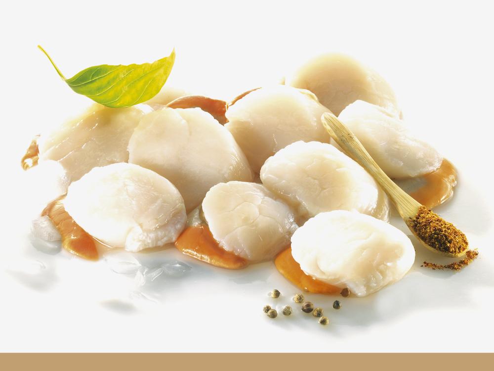 Photo de la recette des noix de saint-jacques au safran