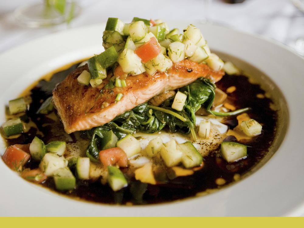 Photo de la recette des pavés de saumon en papillote