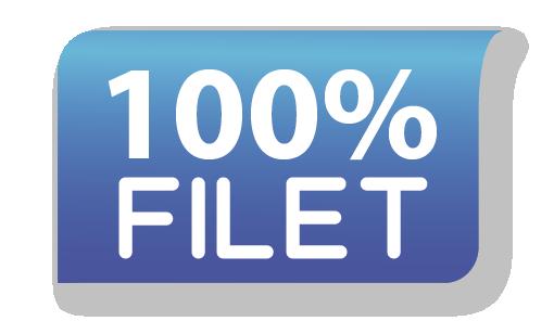 100% filet