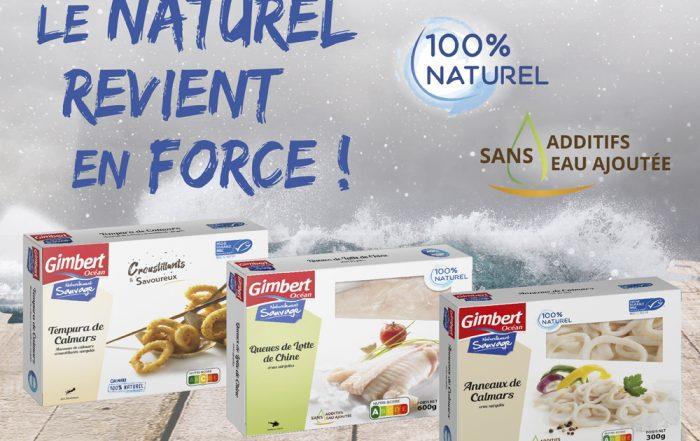 Nouveaux produits Gimbert Océan