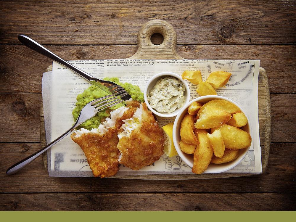 Recette fish & chips par Gimbert Océan